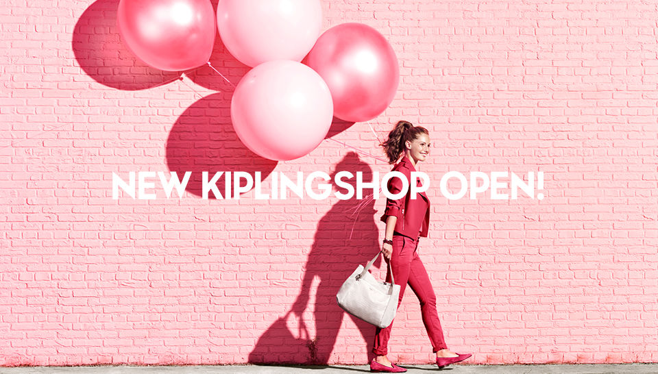 슬라이드 NEW KIPLINGSHOP OPEN